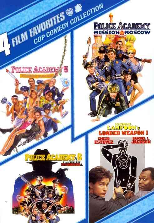 4 FILM FAVORITES:COP COMEDY BY GUTTENBERG,STEVE (DVD)